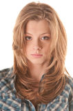 dziewczyny portreta rudzielec Zdjęcie Royalty Free
