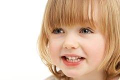 dziewczyny portreta studia potomstwa Zdjęcia Royalty Free