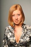 dziewczyny portreta studio Zdjęcia Royalty Free