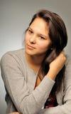 dziewczyny portreta studio Zdjęcie Stock