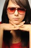 dziewczyny portreta studio Zdjęcie Royalty Free