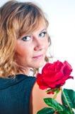 dziewczyny portreta studio Fotografia Royalty Free