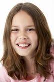 dziewczyny portreta uśmiechnięci potomstwa Obraz Royalty Free