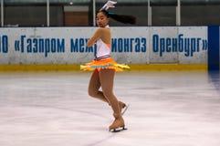 Dziewczyny postaci łyżwiarka, Fotografia Royalty Free