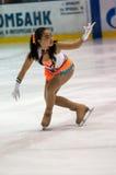 Dziewczyny postaci łyżwiarka, Zdjęcie Stock