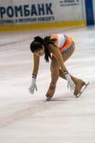 Dziewczyny postaci łyżwiarka, Obraz Stock