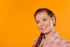 dziewczyny pozytywni nastolatka potomstwa fotografia stock