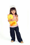 dziewczyny princess zdjęcia stock