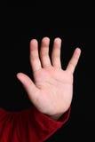dziewczyny ręka Zdjęcie Royalty Free