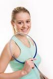 dziewczyny racquet Obrazy Royalty Free