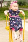dziewczyny rondo Zdjęcie Royalty Free