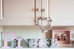 Dziewczyny ` s pokoju dekoracja Obraz Royalty Free