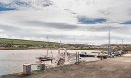 Dziewczyny schronienie i wioska Blisko Girvan Szkocja Zdjęcia Stock