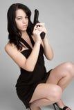 dziewczyny seksowny armatni Zdjęcie Stock