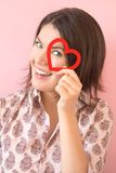 dziewczyny serca ja target2913_0_ obrazy stock