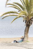 dziewczyny się na plaży Zdjęcia Stock