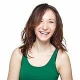 dziewczyny się uśmiechać nastolatków Obrazy Stock
