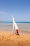 dziewczyny się jogi Zdjęcia Stock