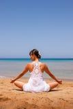 dziewczyny się jogi Obrazy Royalty Free