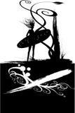 dziewczyny skarbikowana surf Obraz Royalty Free