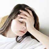 dziewczyny smutne nastolatków Zdjęcie Stock