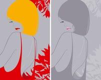 dziewczyny splendoru fryzura tęsk ilustracji