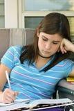 dziewczyny studiować Fotografia Stock