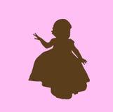 dziewczyny sylwetka Zdjęcia Royalty Free