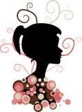 Dziewczyny sylwetka Zdjęcie Royalty Free