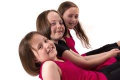 dziewczyny szczęśliwe Obraz Royalty Free