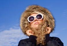 dziewczyny szkieł słońce Obrazy Stock