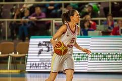 Dziewczyny sztuki koszykówka Obrazy Royalty Free