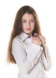 dziewczyny target2343_0_ mały Obrazy Stock