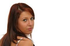 Dziewczyny target606_0_ zdjęcia stock