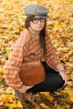 dziewczyny torebki smutni potomstwa zdjęcie royalty free