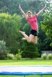 dziewczyny trampolinę Obrazy Stock