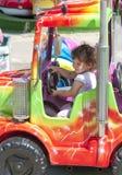 dziewczyny trochę ciężarówka Zdjęcie Stock
