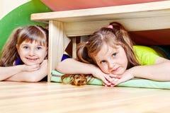 dziewczyny trochę dwa Zdjęcia Stock