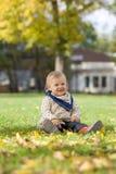 dziewczyny trochę park Zdjęcie Royalty Free