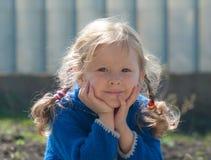 dziewczyny trochę plenerowy ja target954_0_ Fotografia Stock