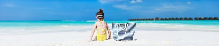 dziewczyny trochę wakacje Obraz Royalty Free