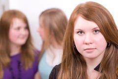 dziewczyny trzy Zdjęcia Stock