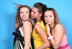 dziewczyny trzy zdjęcie royalty free