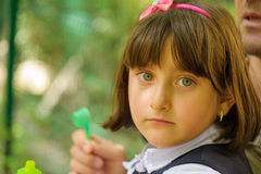 Dziewczyny twarz Obrazy Stock