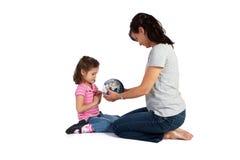 dziewczyny uczenie nauczyciela świat Zdjęcia Stock