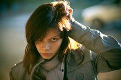 dziewczyny ulicy odprowadzenie Fotografia Stock
