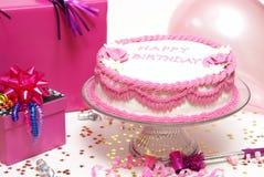 dziewczyny urodzinowy przyjęcie Zdjęcia Royalty Free
