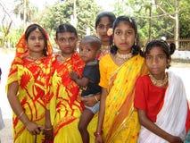 Dziewczyny w Bangladesz Fotografia Stock