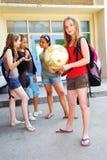 dziewczyny w szkole zdjęcie royalty free