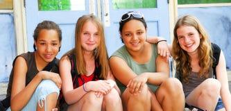 dziewczyny w szkole Fotografia Royalty Free